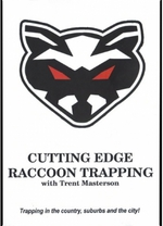 Cutting Edge Raccoon Trapping DVD byTrent Masterson cutedge15